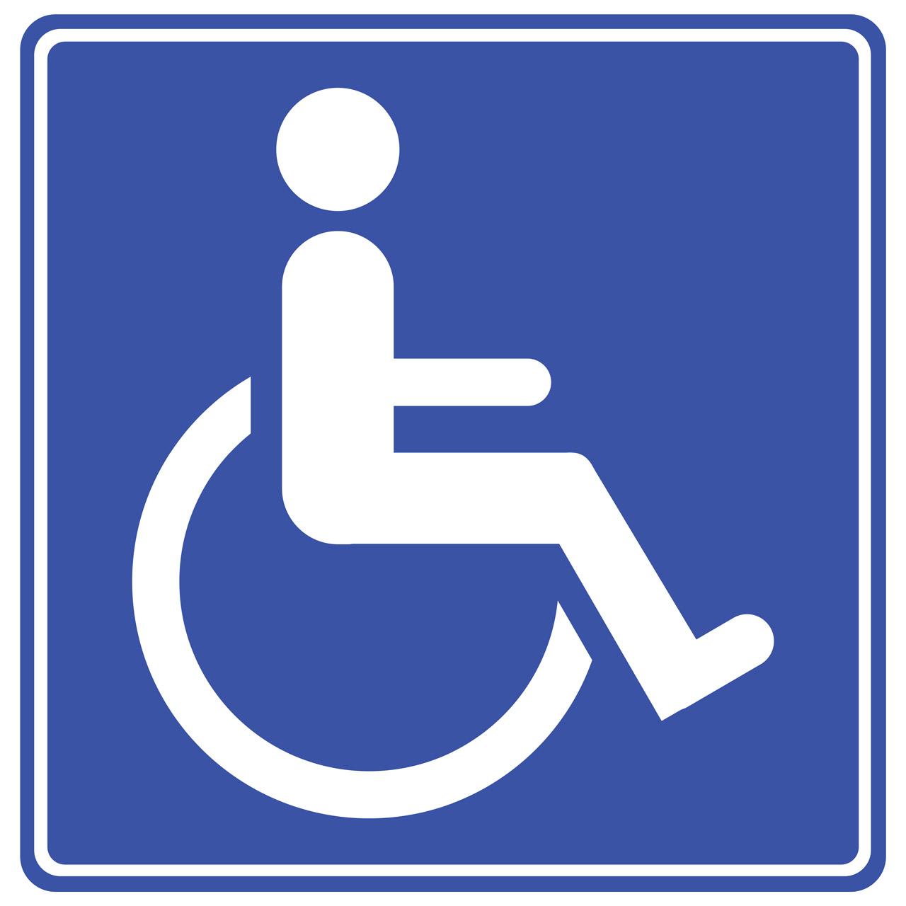 Handicap Hang Tags: