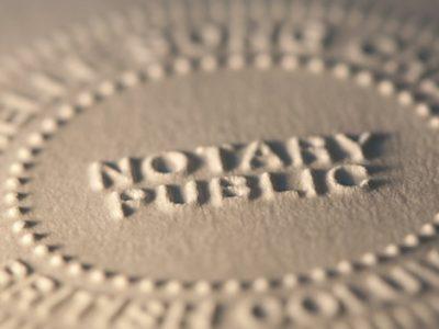 notary public